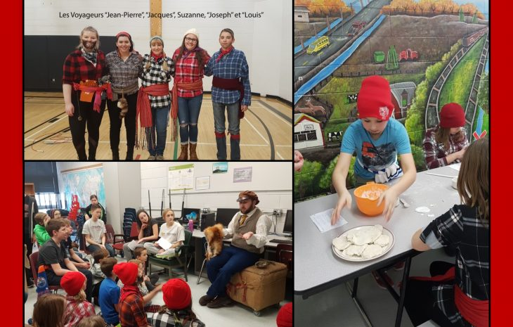 Festival du Voyageur at Elm Creek School