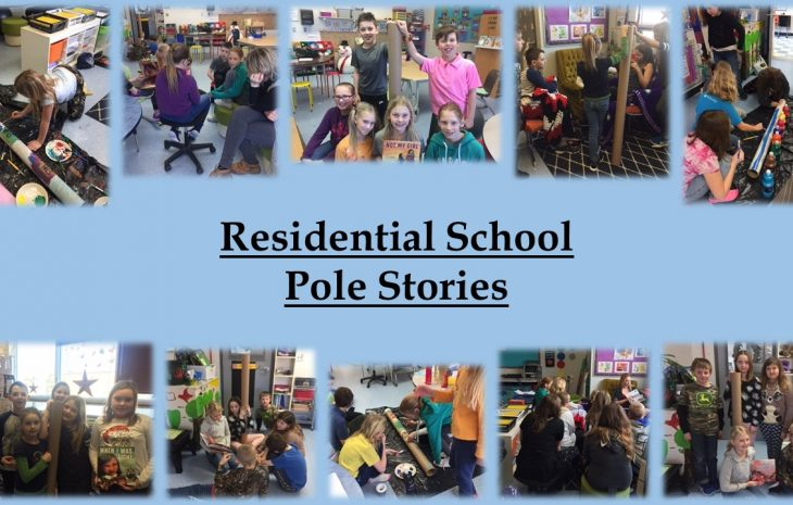 Residential School Pole Stories